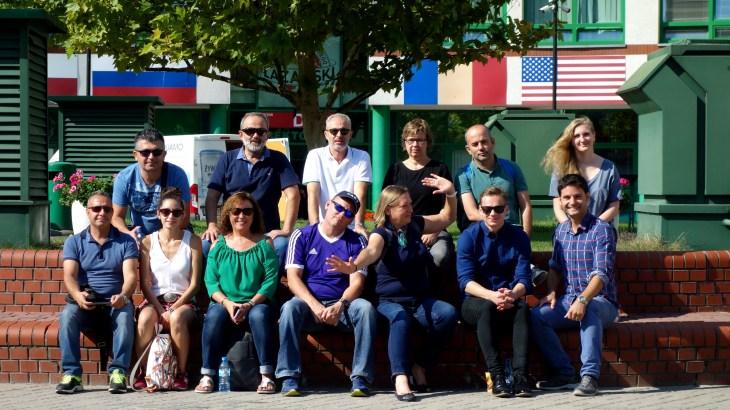 Gruppenfoto Warschau LK