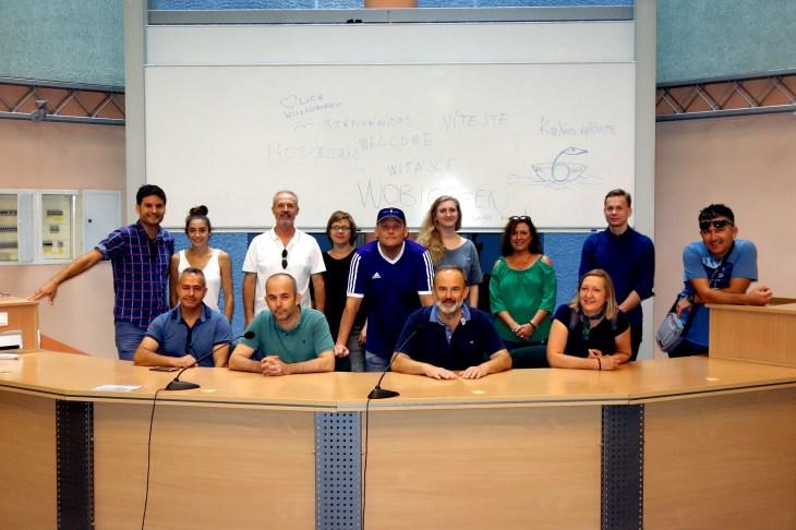 Gruppenfoto Warschau Uni