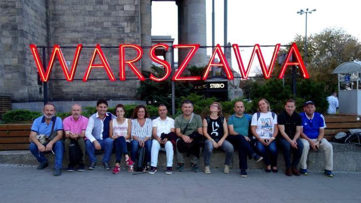 Gruppenfoto Warschau